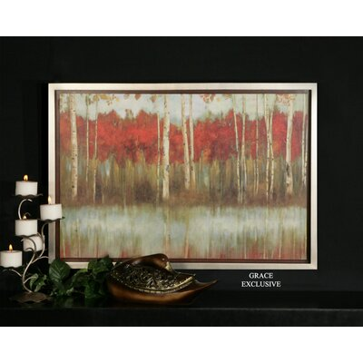 Uttermost The Edge Wall Art in Hand Applied Brushstroke