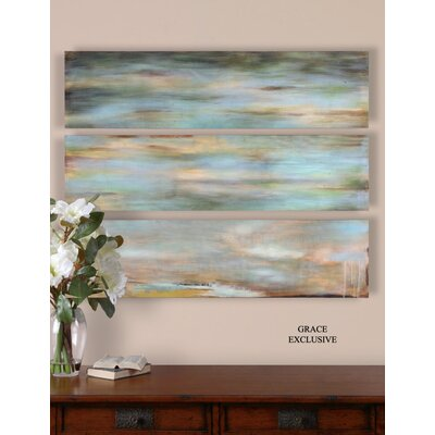 Uttermost Horizon View Panel Wall Art