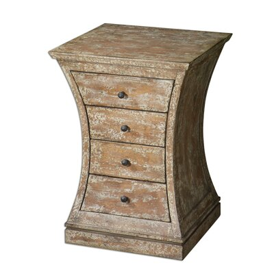 Uttermost Avarona 4 Drawer Accent Chest