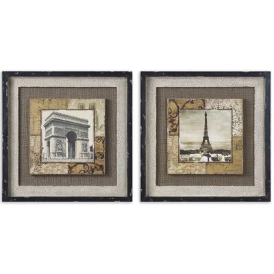 2 Piece Paris Tokens by Grace Feyock Wall Art Set - 20