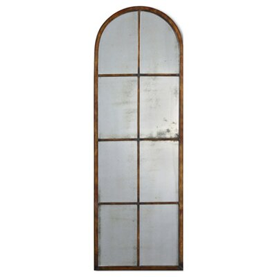 Uttermost Ameil Arch Mirror in Heavy Maple Brown