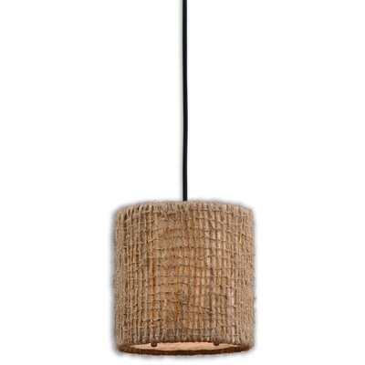 Uttermost CK Generic 1 Light Mini Burleson Drum Foyer Pendant