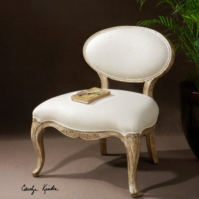 Uttermost Tola Fabric Slipper Chair