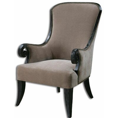 Kandy Taupe Arm Chair