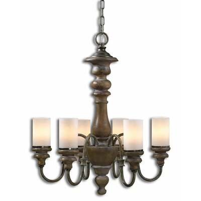 Torreano 6 Light Chandelier