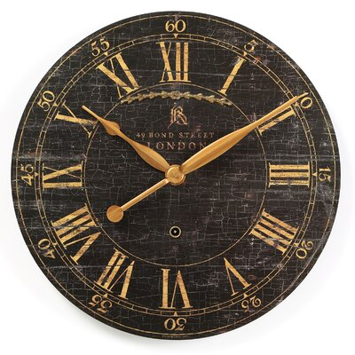 "Bond Street 18"" Wall Clock"