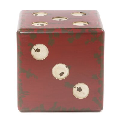 Uttermost Dice End Table