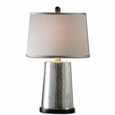 """Uttermost Arnez 26"""" H Table Lamp with Oval Shade"""