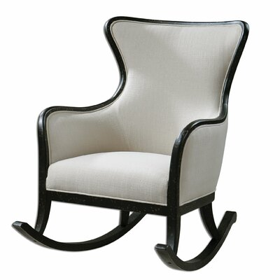 Uttermost Sandy High Back Rocking Chair