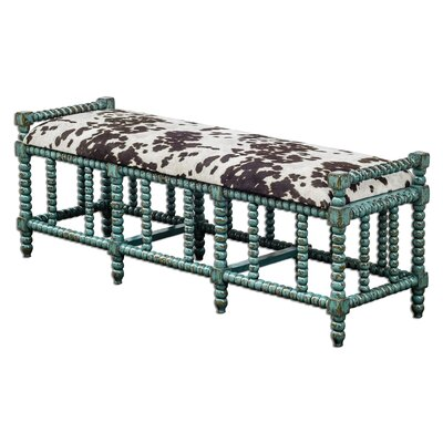 Uttermost Chahna Cushioned Bench