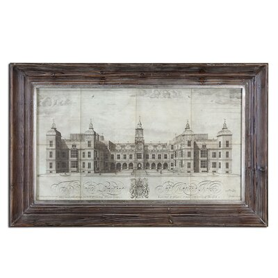 Hatfield House by Grace Feyock Framed Vintage Advertisement