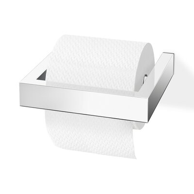 ZACK Linea Wall Mounted Toilet Roll Holder