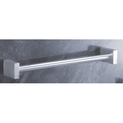 "ZACK Bathroom Accessories 18.7"" Wall Mounted Fresco Towel Rail"