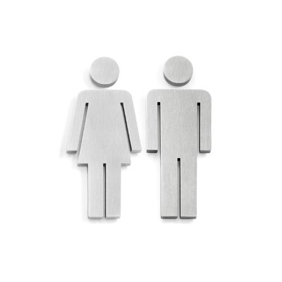 ZACK Indici Door Symbol Woman and Man Set