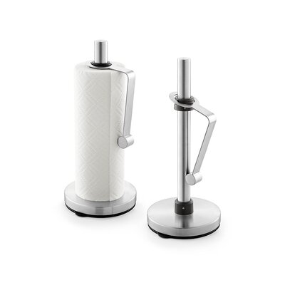 ZACK Nomo Kitchen Roll Holder with Vacuum Base