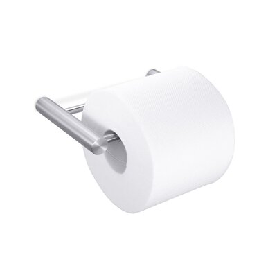 ZACK Civio Toilet Roll Holder in Stainless Steel
