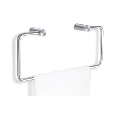 ZACK Civio Swiveling Towel Holder in Stainless Steel
