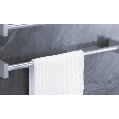 "ZACK Bathroom Accessories 25.6"" Wall Mounted Fresco Towel Rail"