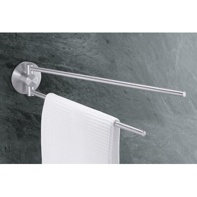 "ZACK Bathroom Accessories 16.5"" Wall Mounted Marino Towel Bar"