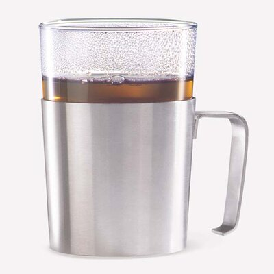 Rezzo Tea Cup Holder with Glass