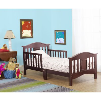 Contemporary Slat Toddler Bed