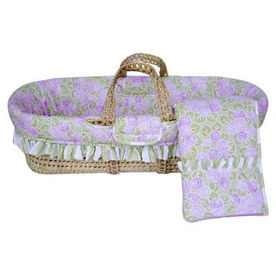 Bacati Flower Basket Moses Basket