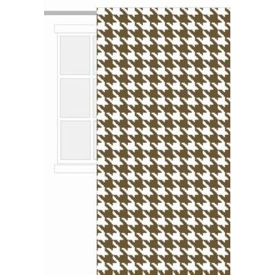 Bacati Metro Sateen Cotton Rod Pocket Curtain Panel