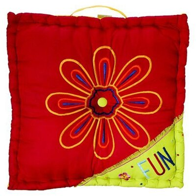Bacati Sunshine Floor Pillow