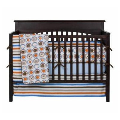 Bacati Mod Sports Crib Bedding Collection