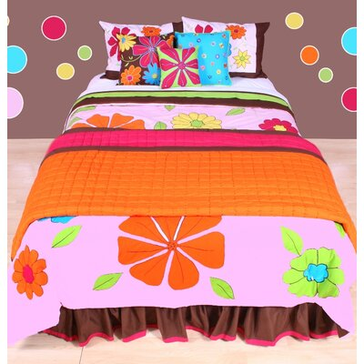 Bacati Valley of Flowers Bedding Collection