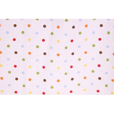 Bacati Baby and Me Dots Crib Fitted Sheet (Set of 2)