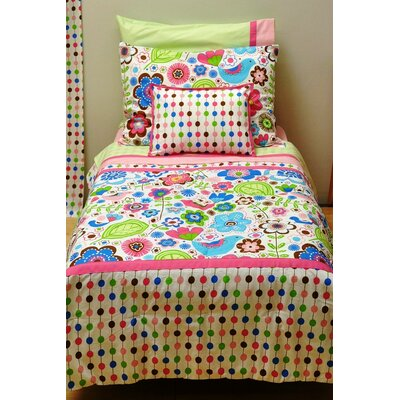 Bacati Botanical Sanctuary Toddler Bedding Collection