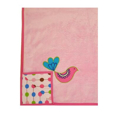 Bacati Botanical Sanctuary Babies Blanket