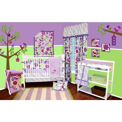 Bacati Botanical Sanctuary Crib Bedding Collection