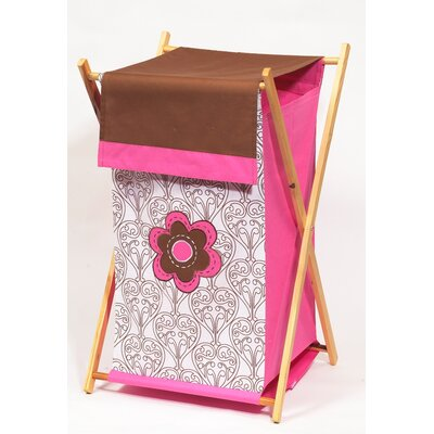 Bacati Damask Hamper