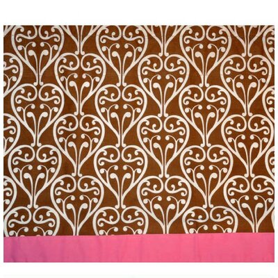 Bacati Damask Cotton Curtain Valance
