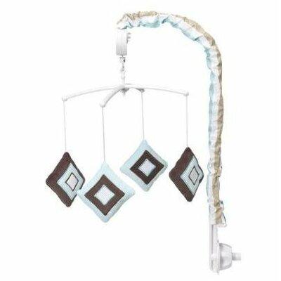Bacati Mod Diamonds and Stripes Mobile