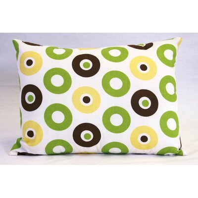Bacati Mod Dots and Stripes Boudoir Pillow