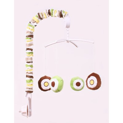 Bacati Mod Dots and Stripes Musical Mobile
