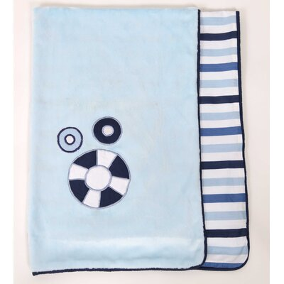 Bacati Little Sailor Blanket