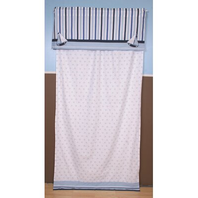 Bacati Little Sailor Curtain Panel