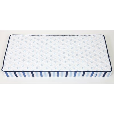 Bacati Little Sailor Changing Pad Cover