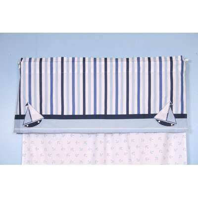 Bacati Little Sailor Curtain Valance