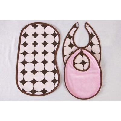 Bacati 3 Pc Bib & Burp Cloths Set