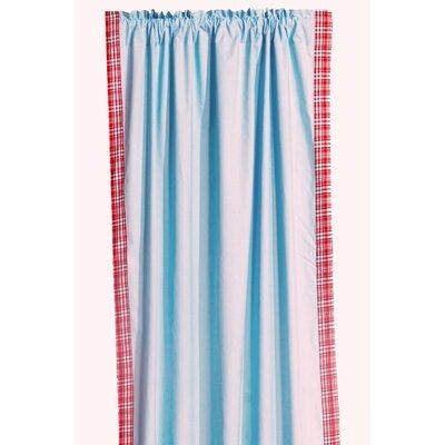 Bacati Boys Stripes Cotton Rod Pocket Curtain Single Panel