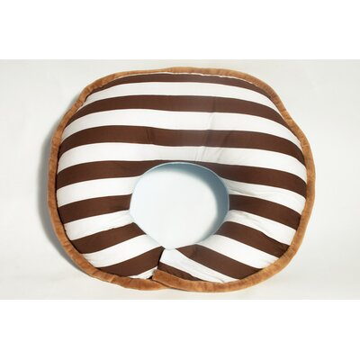 Bacati Stripes Nursing Pillow Cover