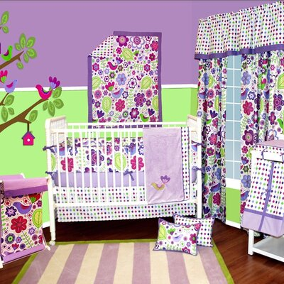 Bacati Botanical Sanctuary Crib Bedding Collection