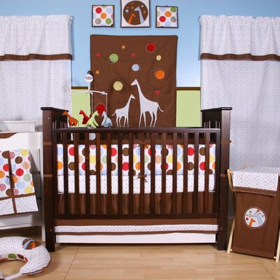 Bacati Baby and Me Crib Bedding Collection