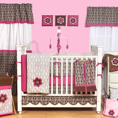 Bacati Damask Crib Bedding Collection