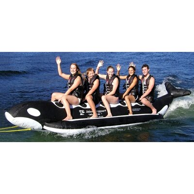 "Island Hopper 5 - Passenger Inline Heavy Recreational ""Whale Ride"" Banana Boat Water Sled"